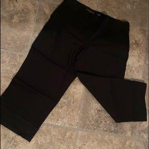 Crop pant black size 9 dressy crop
